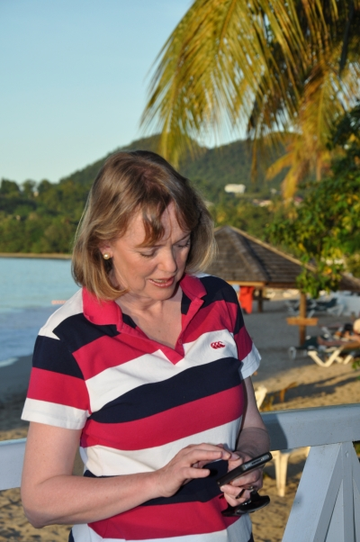 Sophie Neville in the tropics