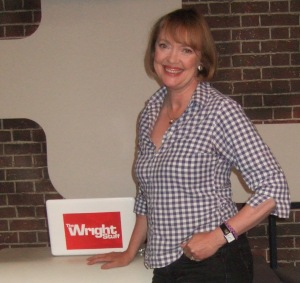 Sophie Neville on The Wright Stuff