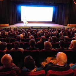 Q&A at Woodbridge Screening