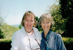 Sophie Neville with Virginia McKenna in about 2001