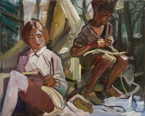 'Titty and John at Camp' by Fadi Mikhail
