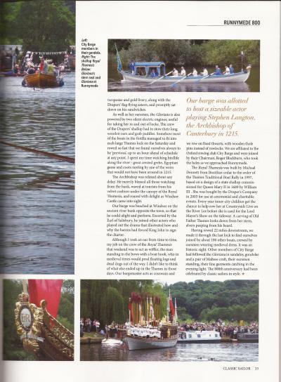 Classic Sailor magazine p.33