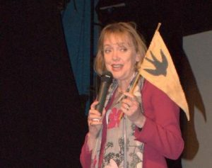 Sophie Neville at the Riverside cinema Woodbridge