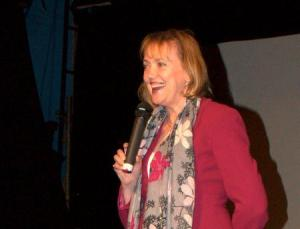 Sophie Neville at the Riverside Q&A