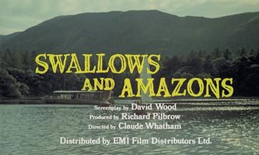 Swallows & Amazons film billing