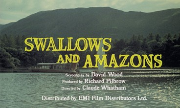 Swallows & Amazons film billing