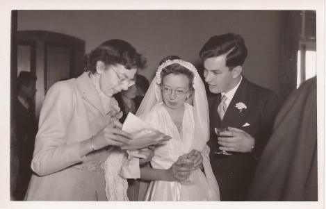 Titty with Brigit and Joe,John Sanders, 1953