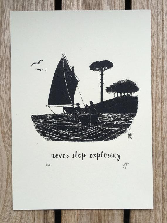 Print by Jago Silver