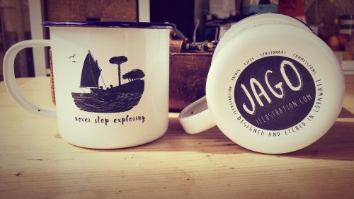 Swallows and Amazons mug by Jago Silver