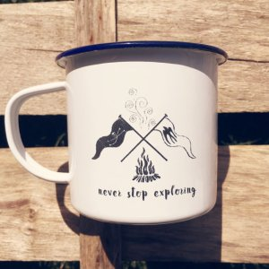 Swallows and Amazons mug designed by Jago Silver