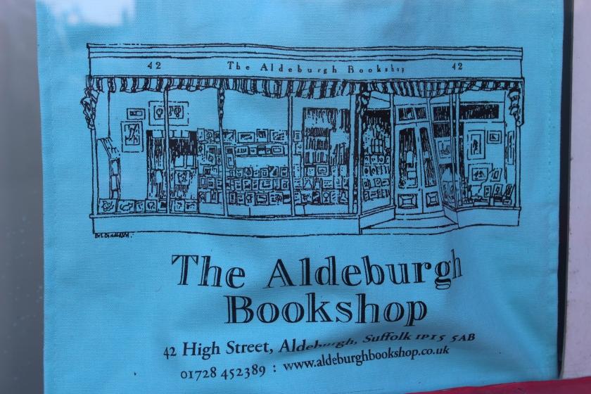 Aldebrugh Bookshop bag