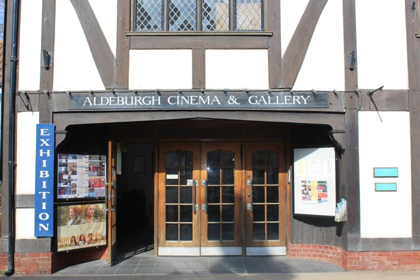 Aldebrugh Cinema seating 250