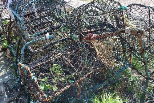 Aldebrugh lobster pots