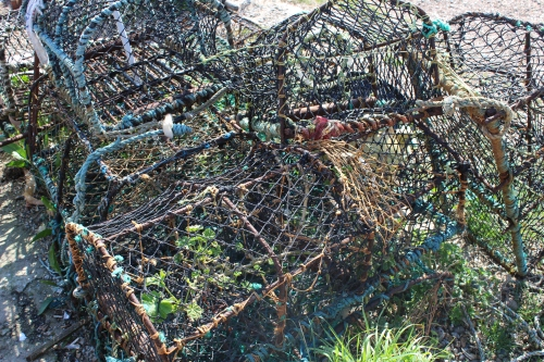 Aldebrugh lobster pots