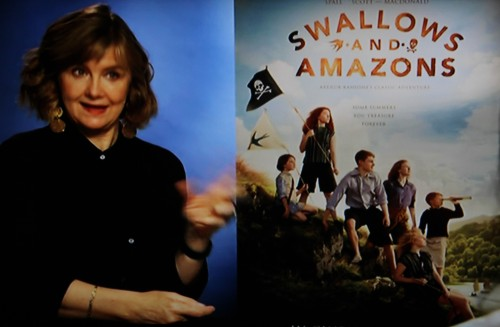 Andrea Gibb talking about 'Swallows and Amazons' 2016