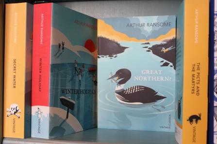 Arthur Ransome's Books in Aldebrugh Bookshop