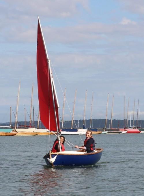 Nina Nannar sailing with Sophie Neville