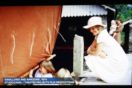 Showing 'Swallows & Amazons' 1974 on News at Ten