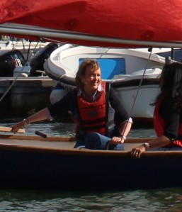 Sophie Neville sailing with Nina Ninnar (2)