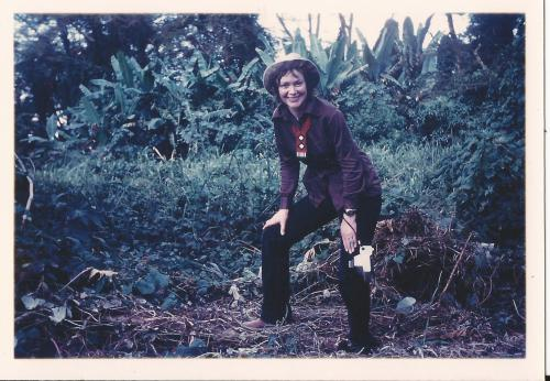 my-mother-on-safari-at-usa-river-in-northern-tanzania-the-early-1970s