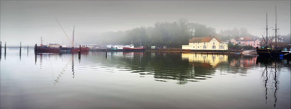 Pin Mill from the Water