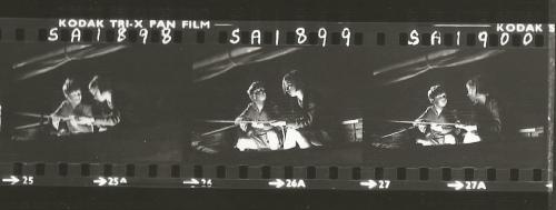 Contact sheet - Simon West and Suzanna Hamilton night sailing