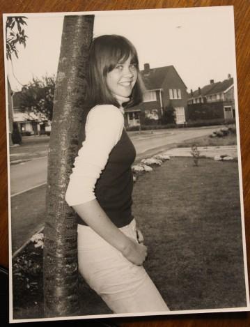 Lesley Bennett in 1974