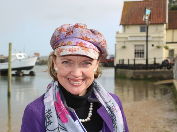 Sophie Neville at Pin Mill 2017