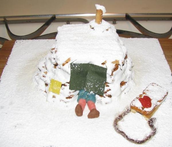 Elizabeth Rondthaler Jolleys igloo cake