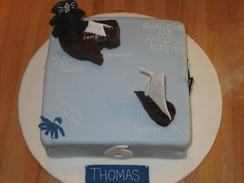 Miranda Gore Browne's Swallows and Amazons cake