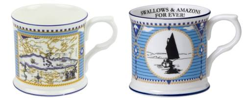 Nancy's Swallows and Amazons mugs