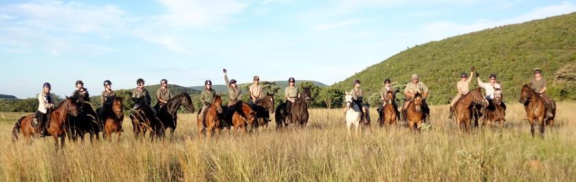 TWT Ride 2018 team photo at Lindani