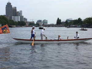 Rowing in Amsterdam