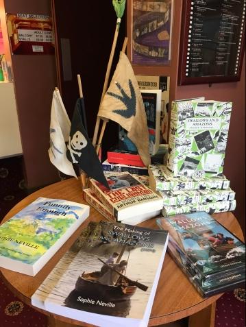 Sophie Neville's book promotion in Keswick