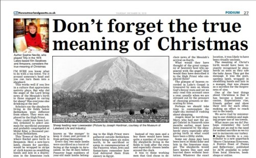 Meaning of Christmas by Sophie Neville