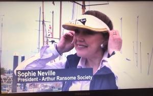 Sophie Neville, President of The Arthur Ransome Society