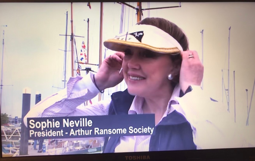 Sophie Neville, President of The Arthur Ransome Society