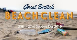 Great British Beach Clean 2019
