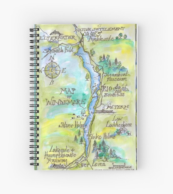 Windemere spiral notepad