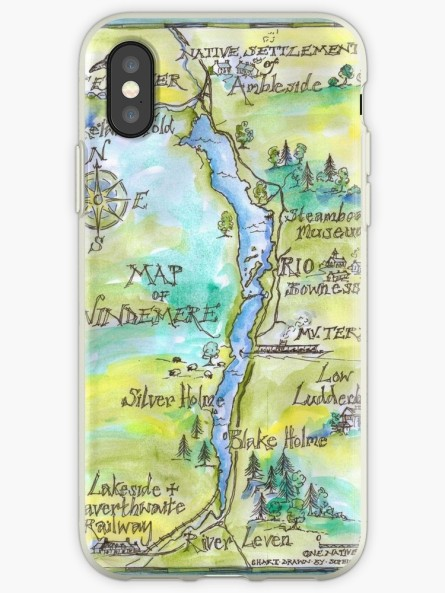 Windermere iphone cover