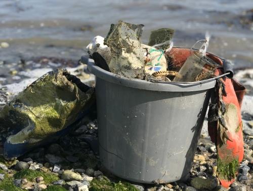 Rubbish - Beach clean 13th May