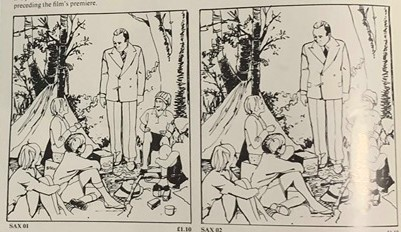 Swallows and Amazons 1974 camp scene
