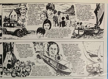 Swallows and Amazons comic 1