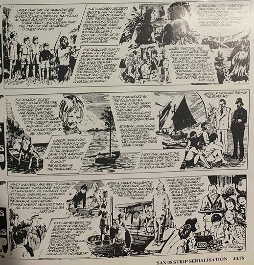 Swallows and Amazons comic 2