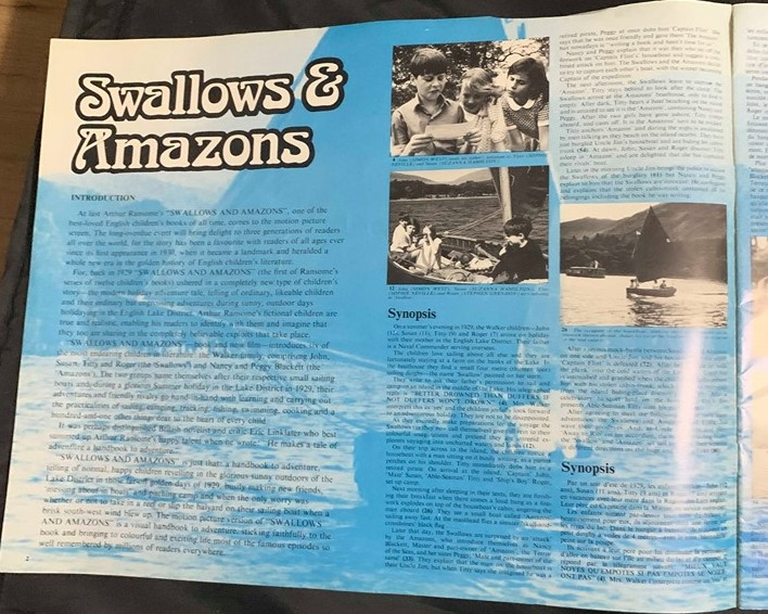 Swallows and Amazons sales book 2