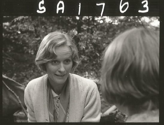 Virginia McKenna as mother in Swallows and Amazons