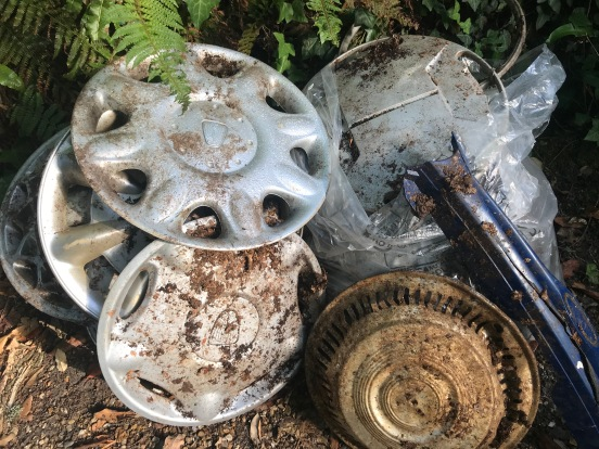 Collector's items - Sophie Neville's litter-picking finds