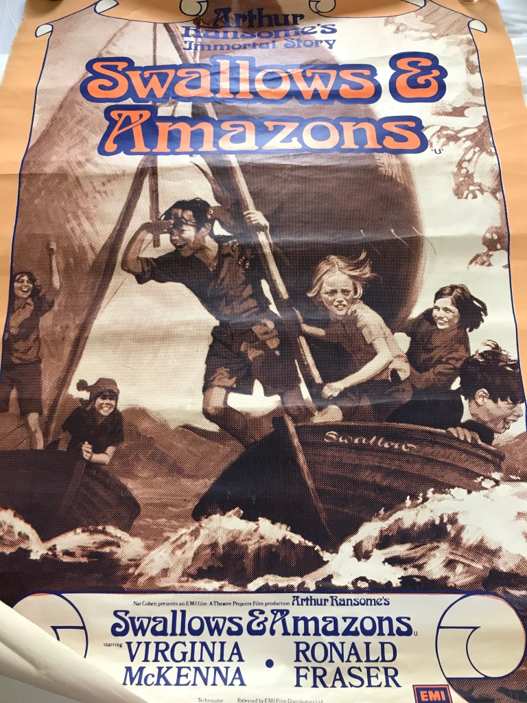 Swallows and Amazons (1974) now distributed by StudioCanal